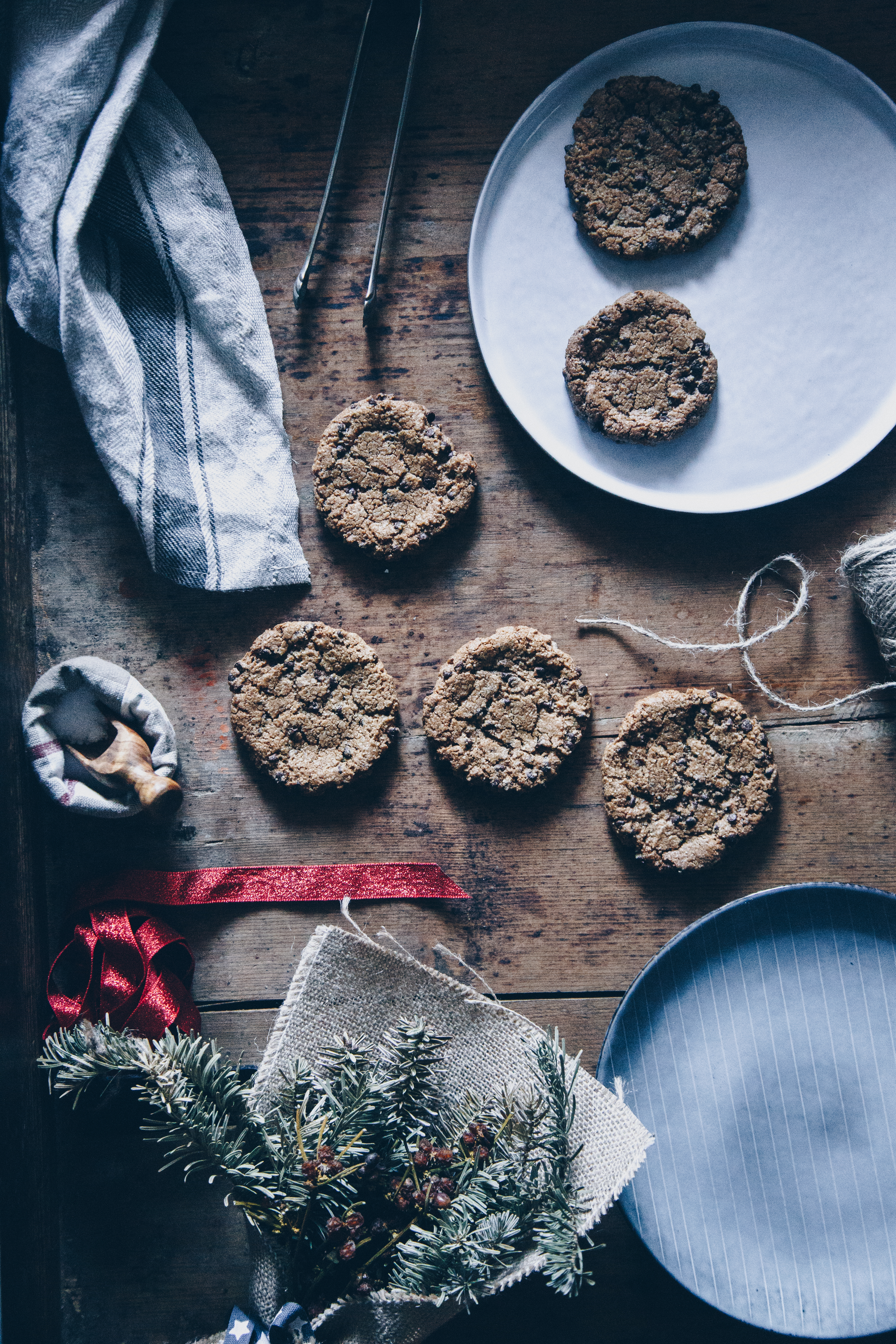 Gluten free vegan chocolate cookies