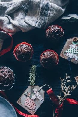 Chocolate vegan cupcakes